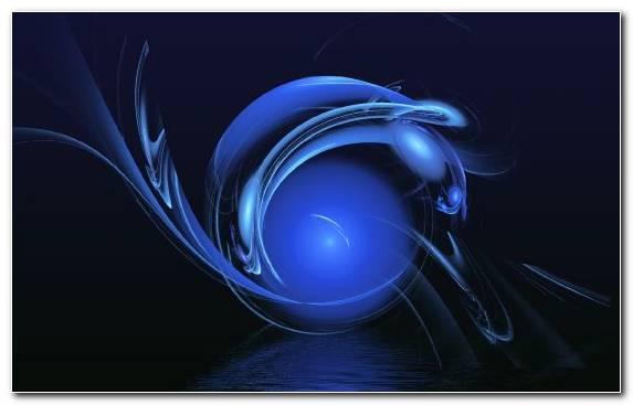 Image Blue Darkness Fractal Art Graphics Electric Blue