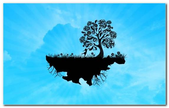 Image Blue Vector Graphics Sky Tree Cloud