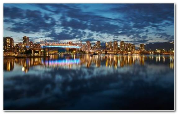 Image Body Of Water Light Waterway Cityscape Landmark