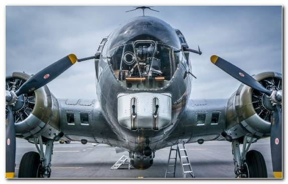 Image Boeing B 17 Flying Fortress Propeller Driven Aircraft Propeller Airplane Fighter Aircraft