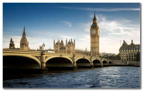 Image Book Sky Palace Of Westminster Westminster Bridge River