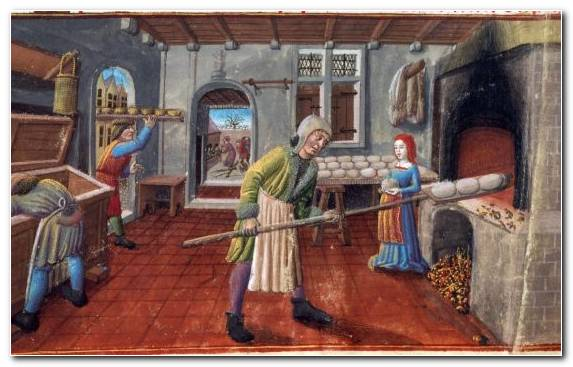 Image Bread Medieval Art Painting Recreation Food
