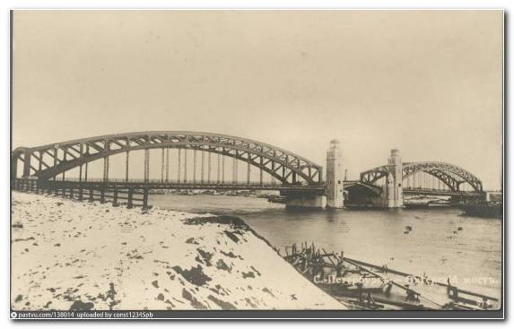 Image Bridge Neva River Arch Bridge Cantilever Bridge Extradosed Bridge