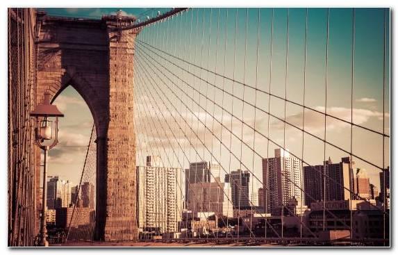 Image Bridge City Metropolis Horizon Landmark