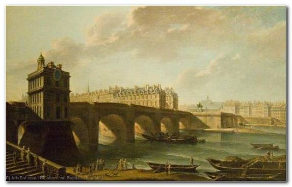 Image Bridge History Visual Arts Bank Painting