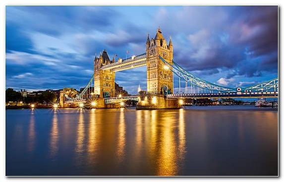 Image Bridge London Bridge Sky River Thames City