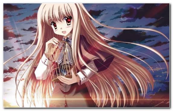 Image Brown Hair Hairstyle Long Hair Mangaka Hair