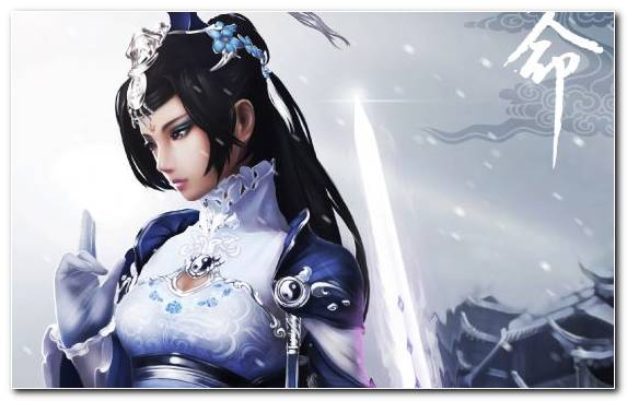 Image Brown Hair Snow Girl Sword Mangaka