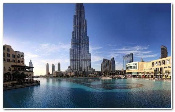 Image Building Capital City Architecture Burj Khalifa Cityscape