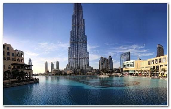 Image Building Capital City Architecture Burj Khalifa Cityscape