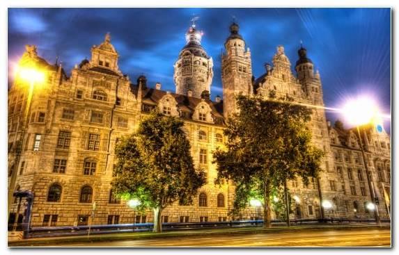 Image Building Leipzig Landmark Metropolis Medieval Architecture