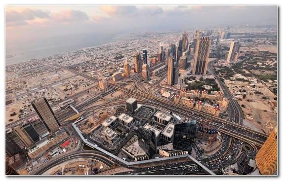 Image Burj Khalifa Metropolis Skyline Building Horizon
