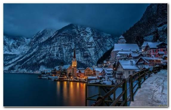 Image Camping Mountainous Landforms Lake Nature Hallstatt