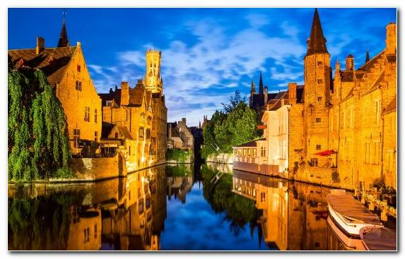 Image Canal Landmark Tourist Attraction Medieval Architecture Spiral