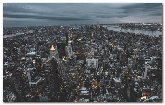 Image Capital City City Horizon Sky Cityscape