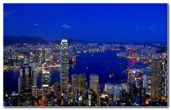 Image Capital City City Sky Victoria Peak Landmark