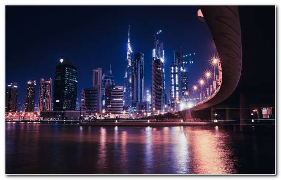Image Capital City City Skyline New York City Dubai