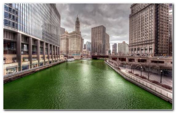 Image Capital City City Urban Area Cityscape Chicago River