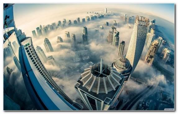 Image Capital City Cityscape Dubai Skyscraper Metropolis