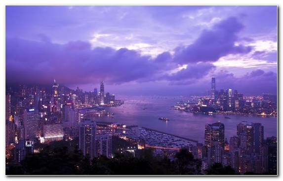 Image Capital City Harbor Victoria Harbour Landmark City
