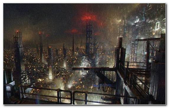 Image Capital City Horizon Deus Ex Human Revolution Cyberpunk Skyline