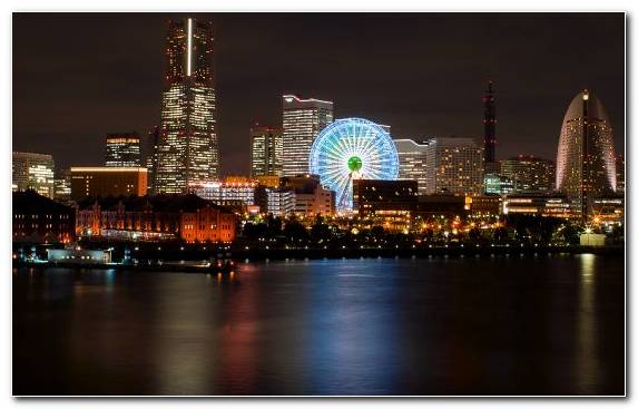 Image Capital City Horizon Metropolis Cityscape Japan