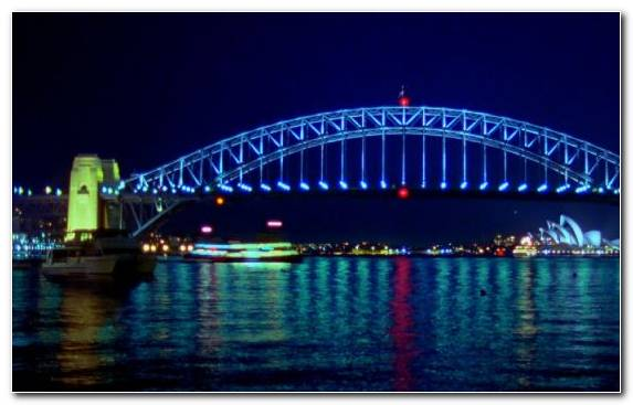 Image Capital City Night Metropolis City Of Sydney Sydney Harbour