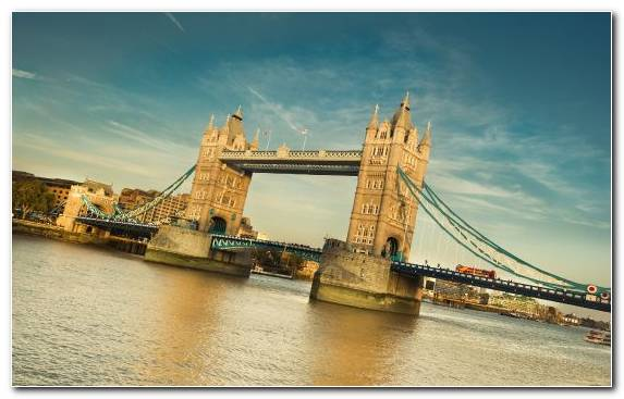 Image Capital City Sky Cityscape River Bridge