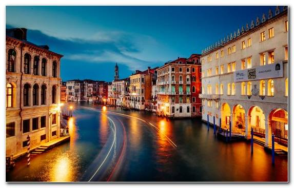 Image Capital City Sky Urban Area Reflection Grand Canal