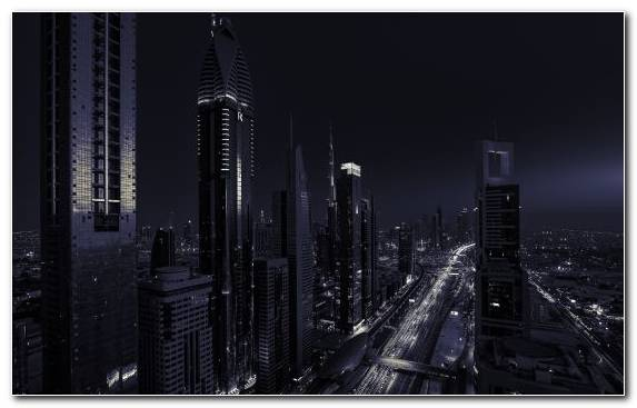 Image Capital City Urban Area Skyscraper Dubai Building