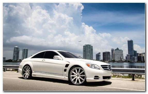 Image Car Personal Luxury Car Wheel Mercedes Benz CL Class Coup