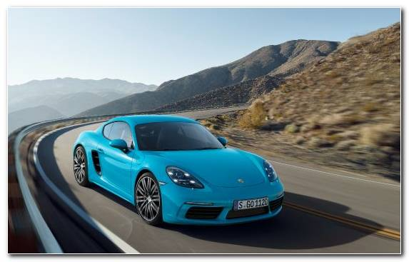 Image Car Sports Car Family Car Porsche 718 Cayman Porsche