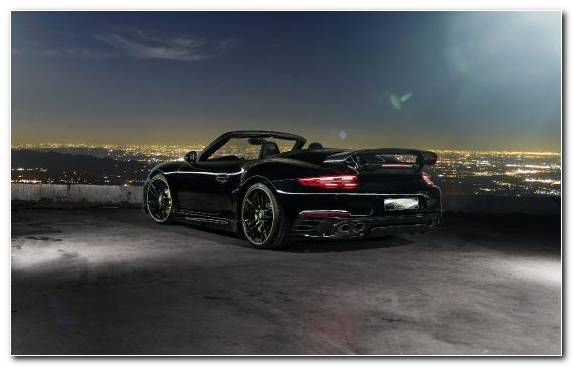 Image Car Sportscar Personal Luxury Car Convertible Porsche 930