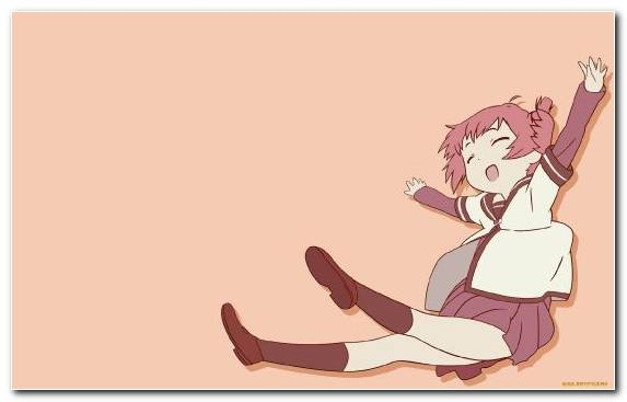 Image Cartoon Arm Girl Anime Sitting
