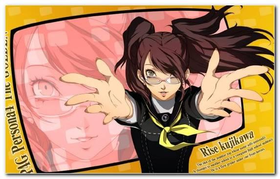 Image Cartoon Cool Yosuke Hanamura Rise Kujikawa Mangaka