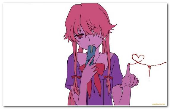 Image Cartoon Nose Yuno Gasai Anime Clothing