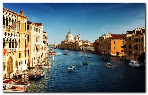 Image Channel Gondola Capital City Metropolis San Giorgio Maggiore