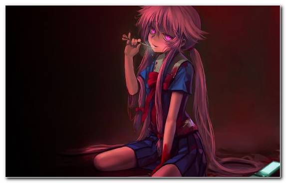 Image character girl yandere darkness anime