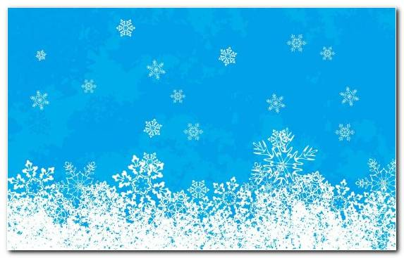 Image Christmas Blue Snowflake