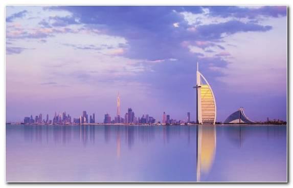 Image City Jumeirah Landmark Cityscape Burj Khalifa