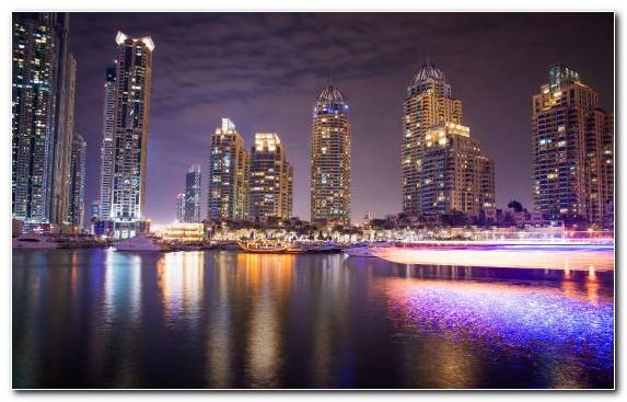 Image City United Arab Emirates Cityscape Emirates Skyline