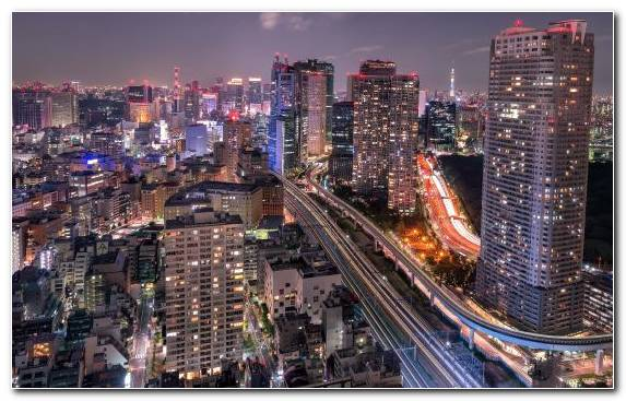 Image City Capital City Metropolis Urban Area Horizon
