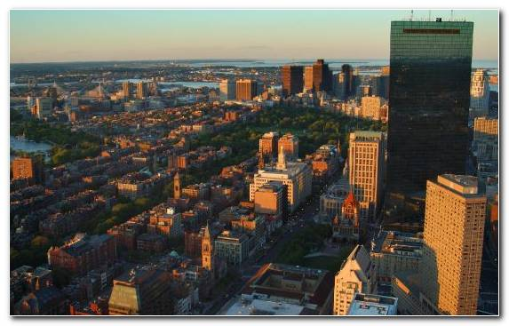 Image City Capital City Skyline Landmark Boston