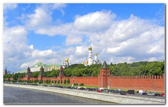 Image City Daytime Landmark Sky Moscow Kremlin