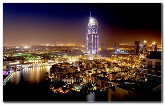 Image City Hotel Skyline Burj Al Arab Jumeirah Burj Khalifa