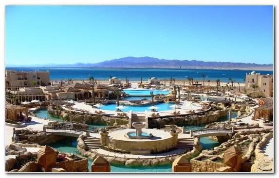 Image city leisure pool resort town beach