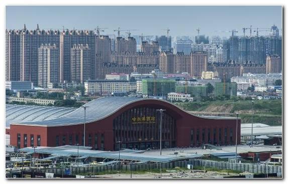 Image City Metropolis Capital City Horizon Structure