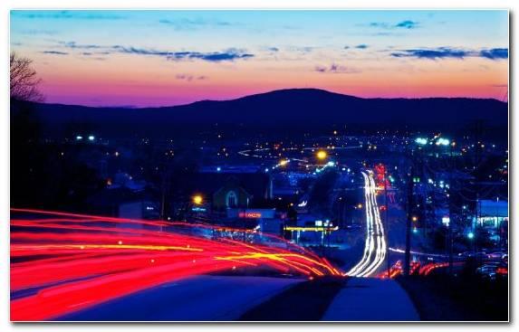 Image City Night Dusk Light Cityscape