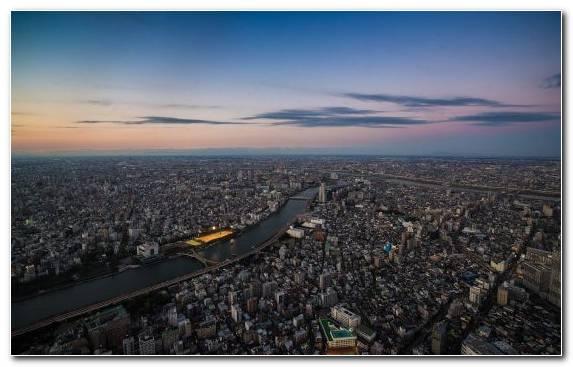 Image City Panorama Urban Area Horizon Tokyo