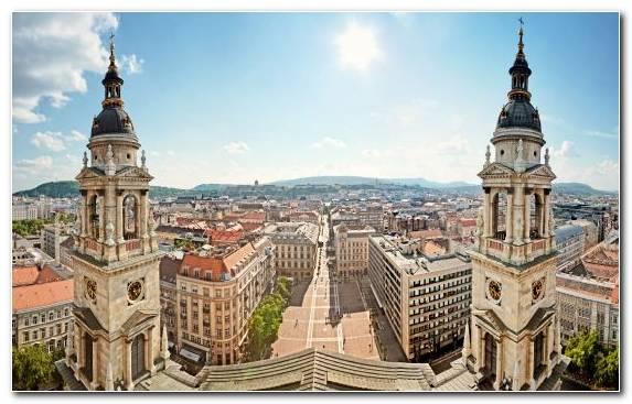 Image City Tourist Attraction Spire Town Spiral